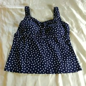 St John's Bay tankini swimsuit top